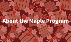 About the Maple Program