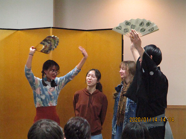 Experiencing a Kyogen play