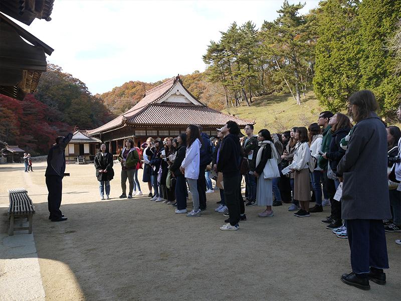 A study tour to Okayama