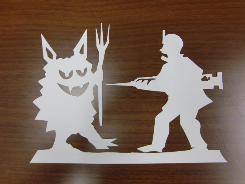 Kamikiri (Paper Cutting Art)